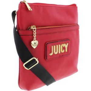 Juicy Couture Blank Check Handbag in Cherry